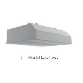 DAIKIN Kurtyna powietrza - Model kasetowy