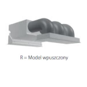 DAIKIN Kurtyna powietrza - Model wpuszczony